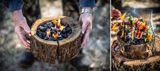 BURNIE PORTABLE CAMPFIRE