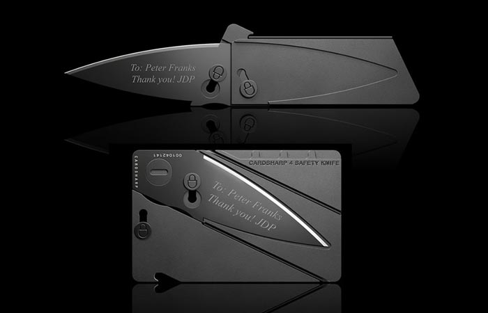 Cardsharp 4 in black