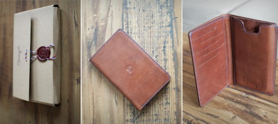 DANNY P LEATHER WALLET WITH iPHONE 6 CASE
