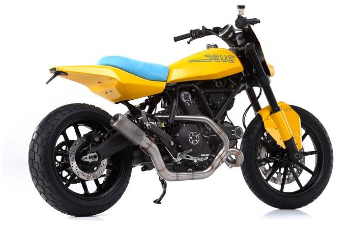 Deux Ex Machina Hondo Grattan motorcycle