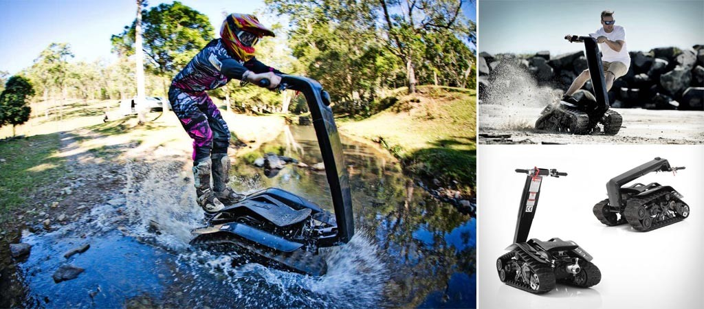 DTV Shredder all-terrain segway and skateboard
