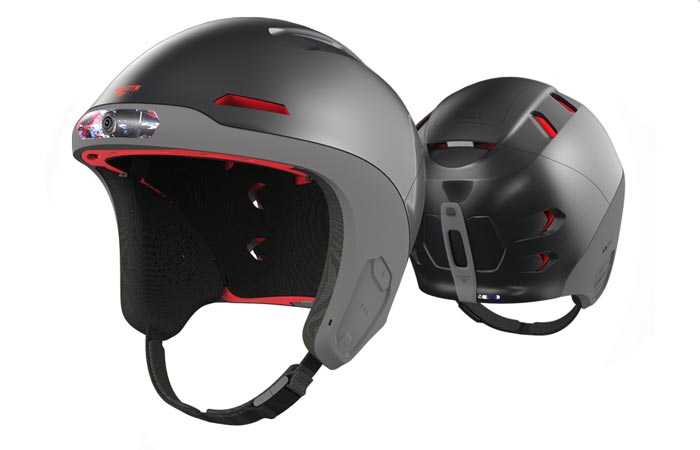Forcite smart snow helmet