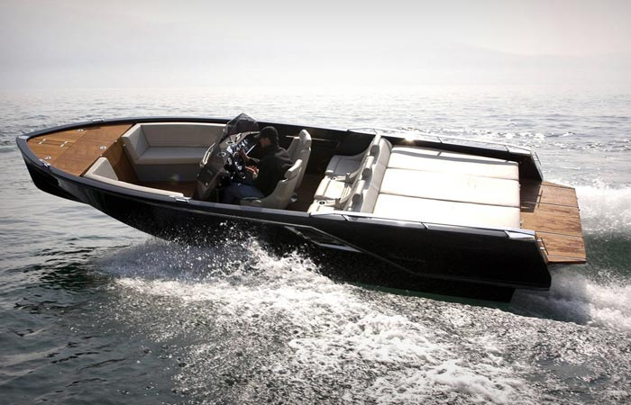 Frauscher Boats electric yacht