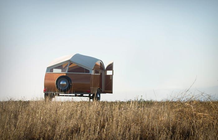 Hutte Hut trailer
