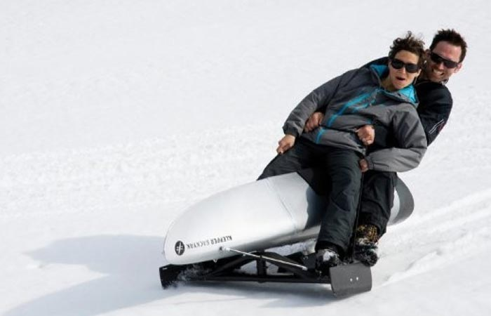 Klepper Backyak sled
