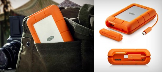 LACIE RUGGED RAID HARD DRIVE