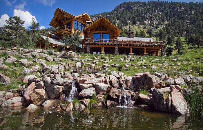 epic log home loveland cabins