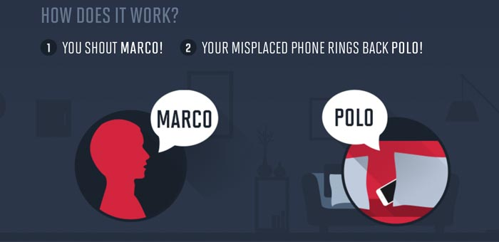 How marco polo app works with your phone