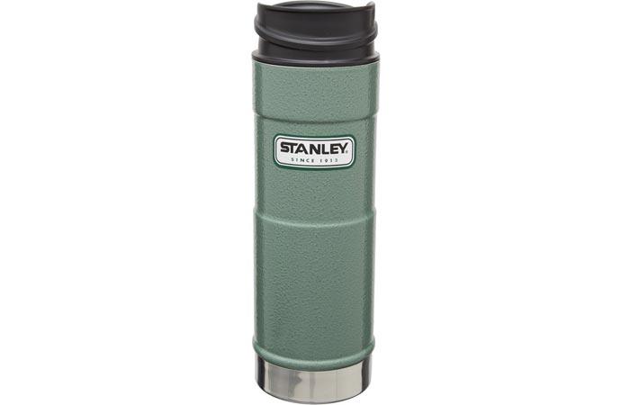 Stanley Classic one hand vacuum mug in green