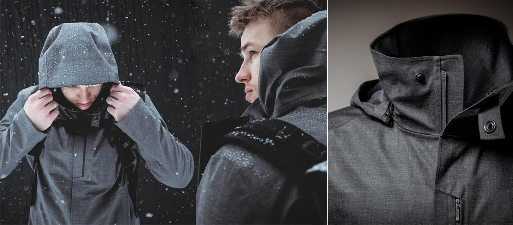 Styrman waterproof topcoat