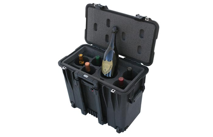 hard shell wine carrying case