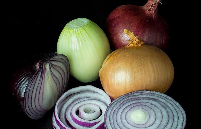Mixed onions