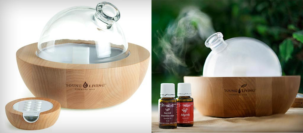 Aria Ultrasonic Diffuser By Young Living Jebiga Design