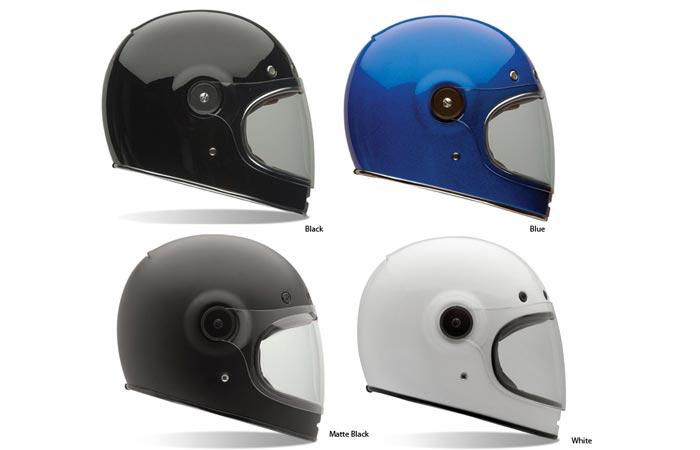 Bell Bullitt retro motorcycle helmet
