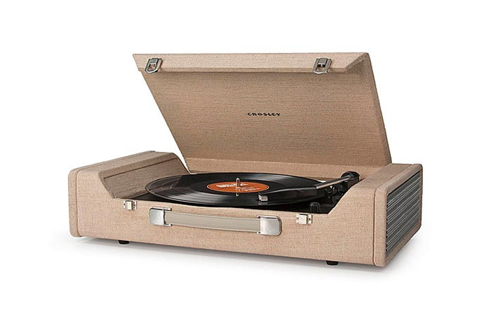 Crosley CR6232A Nomad portable turn table record player