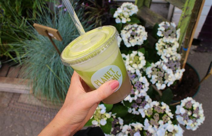 Planet Organic juice