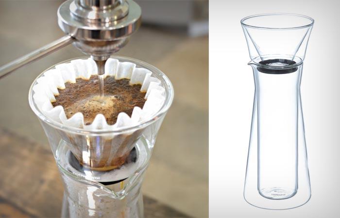 Gino glass coffee server