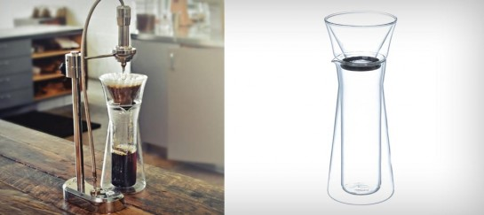 GINO GLASS COFFEE SERVER