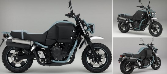 HONDA BULLDOG CONCEPT URBAN AND RURAL BIKE