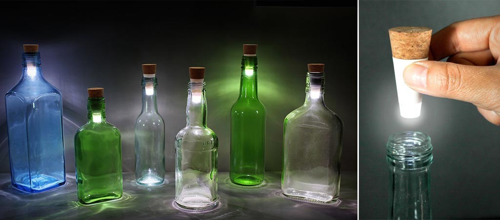 LED Bottle Lights by Suck UK