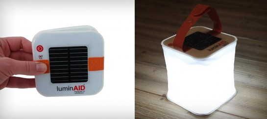 LUMINAID PACKLITE 12 | WATERPROOF SOLAR POWERED LANTERN