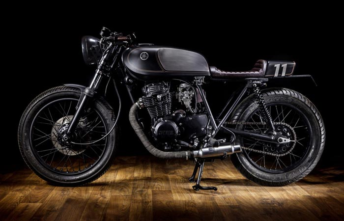 YAMAHA XS400 DARK BULLET | BY MACCO MOTORS |
