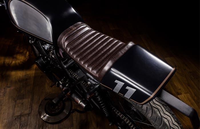Macco Motors Yamaha XS400 Dark Bullet