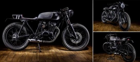 YAMAHA XS400 DARK BULLET | BY MACCO MOTORS