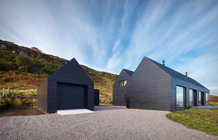 Dualchas Architects private home on Skye Island