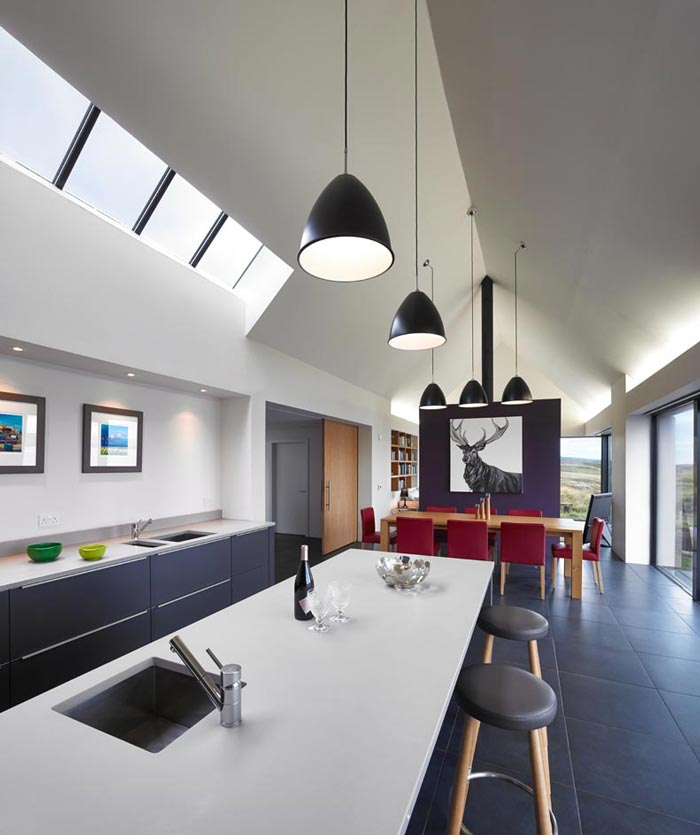 Kitchen design by Dualchas Architects