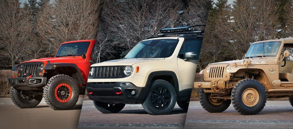 2015 Moab Easter Jeep Safari Concept Collection