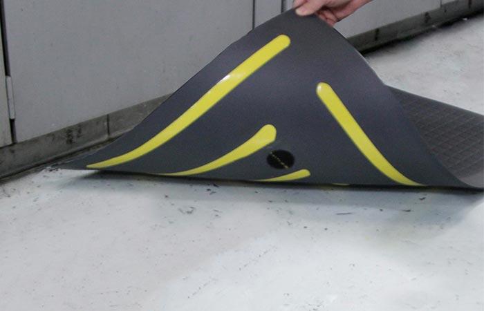 Anti-slip floor mat