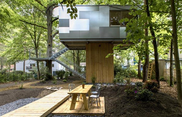 Baumraum Urban Treehouse garden