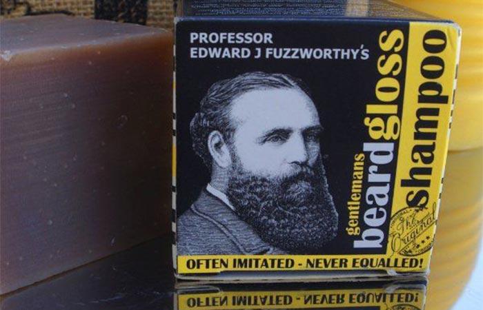 100% natural ingredients beard shampoo