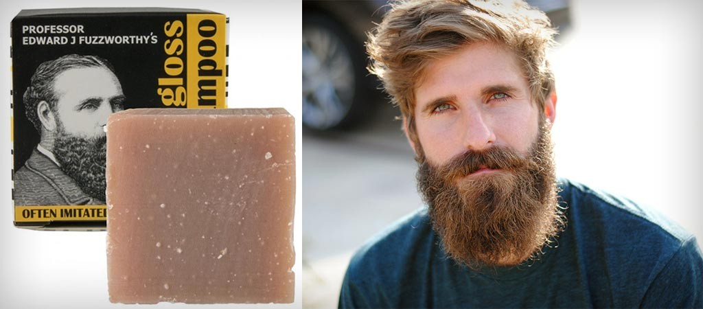 Beard Shampoo   By Professor Fuzzworthy