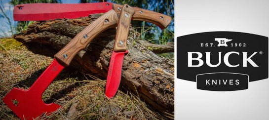 BUCK COMPADRE SERIES | KNIFE, AXE AND FROE