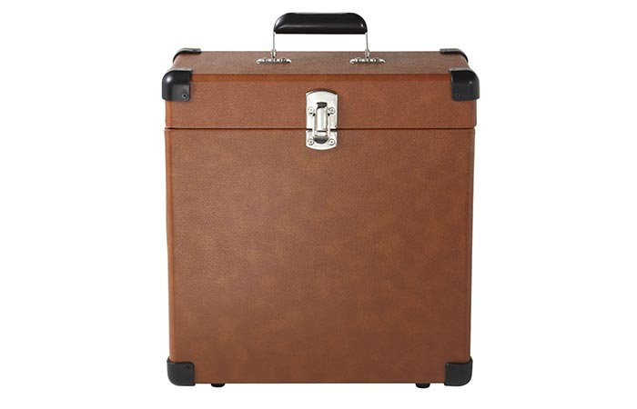 Crosley CR401-TA Record Carrier Case front view