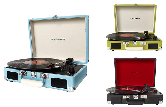 Attrayant Apart From Turquoise, Green And Black, This Turntable Is Available In 5  Other Colors. Trust Us, The Crosley CR8005A Cruiser Portable ...