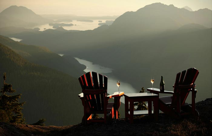 Stunning view of Canadian wilderness