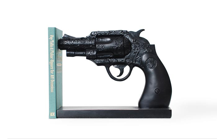Duello Series Gun Bookend