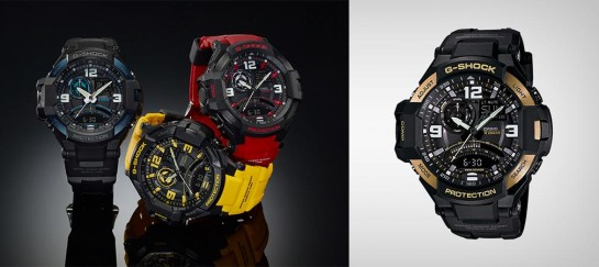 G-SHOCK GRAVITY MASTER GA1000 SERIES