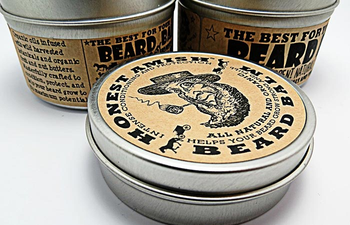Honest Amish beard care products