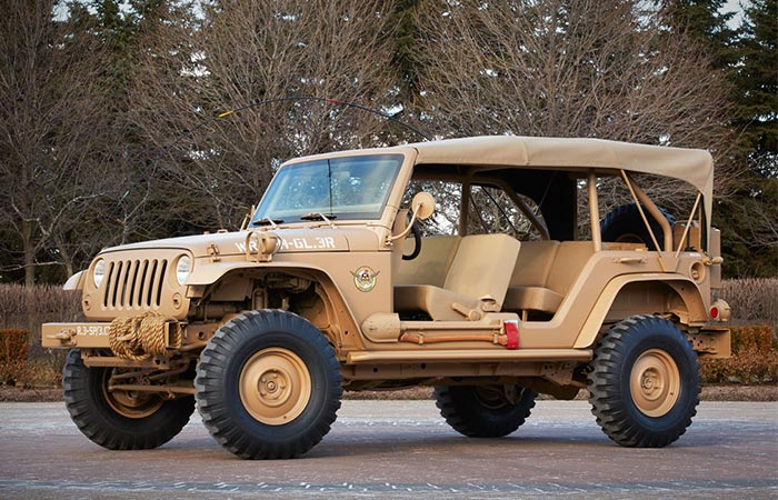 Jeep Staff Car