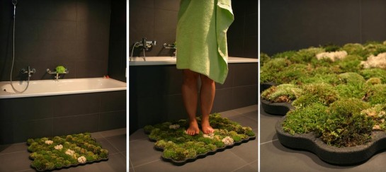 MOSS BATHROOM MAT | BY NECTION DESIGN