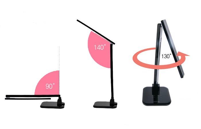 Satechi LED Lamp pivots