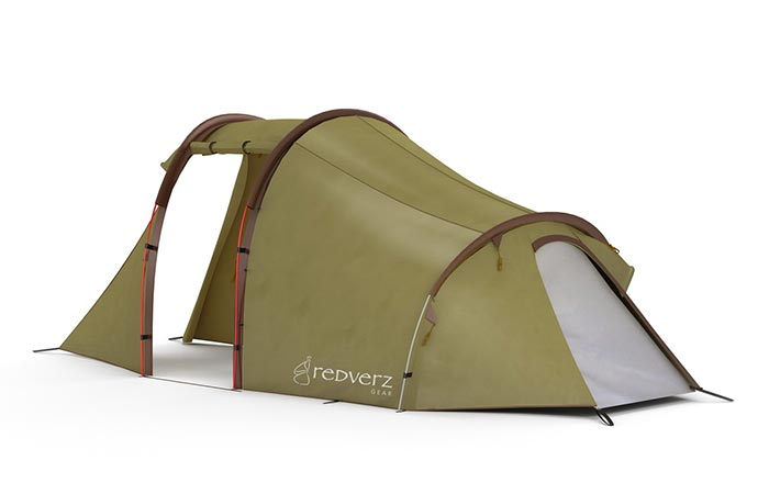 Atacama Expedition Motorcycle Tent size