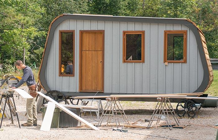 Collingwood Shepherd Hut exterior