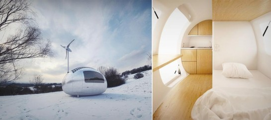 ECOCAPSULE SELF-SUSTAINABLE HOUSE