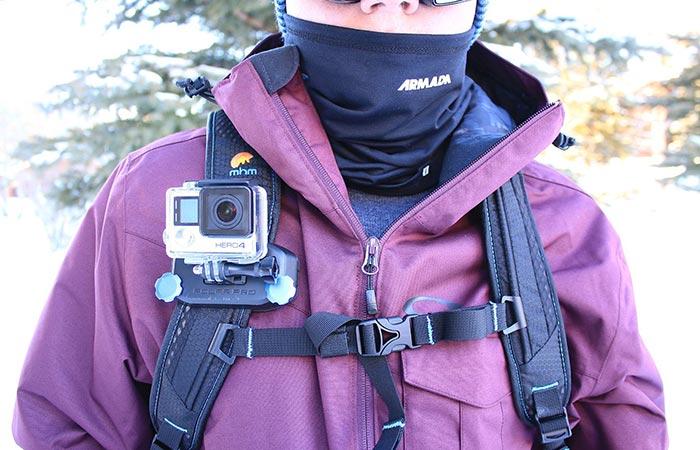 GoPro Strapmount functionality