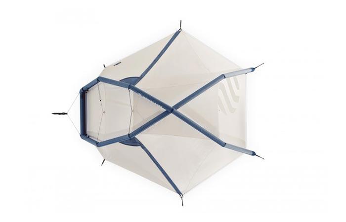 Fistral Tent setup